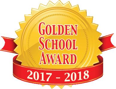 We are a Golden School!
