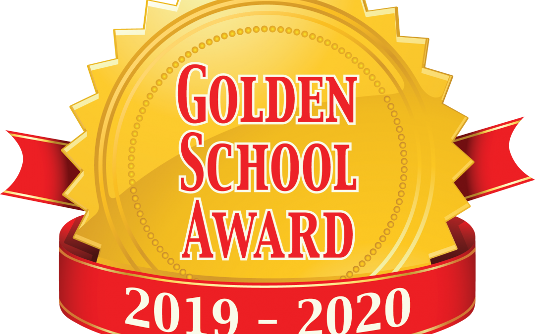 We are a Golden School!